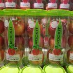 【ロキットアップル】夏場に食べられる新物ミニチュアリンゴ【NZより上陸】