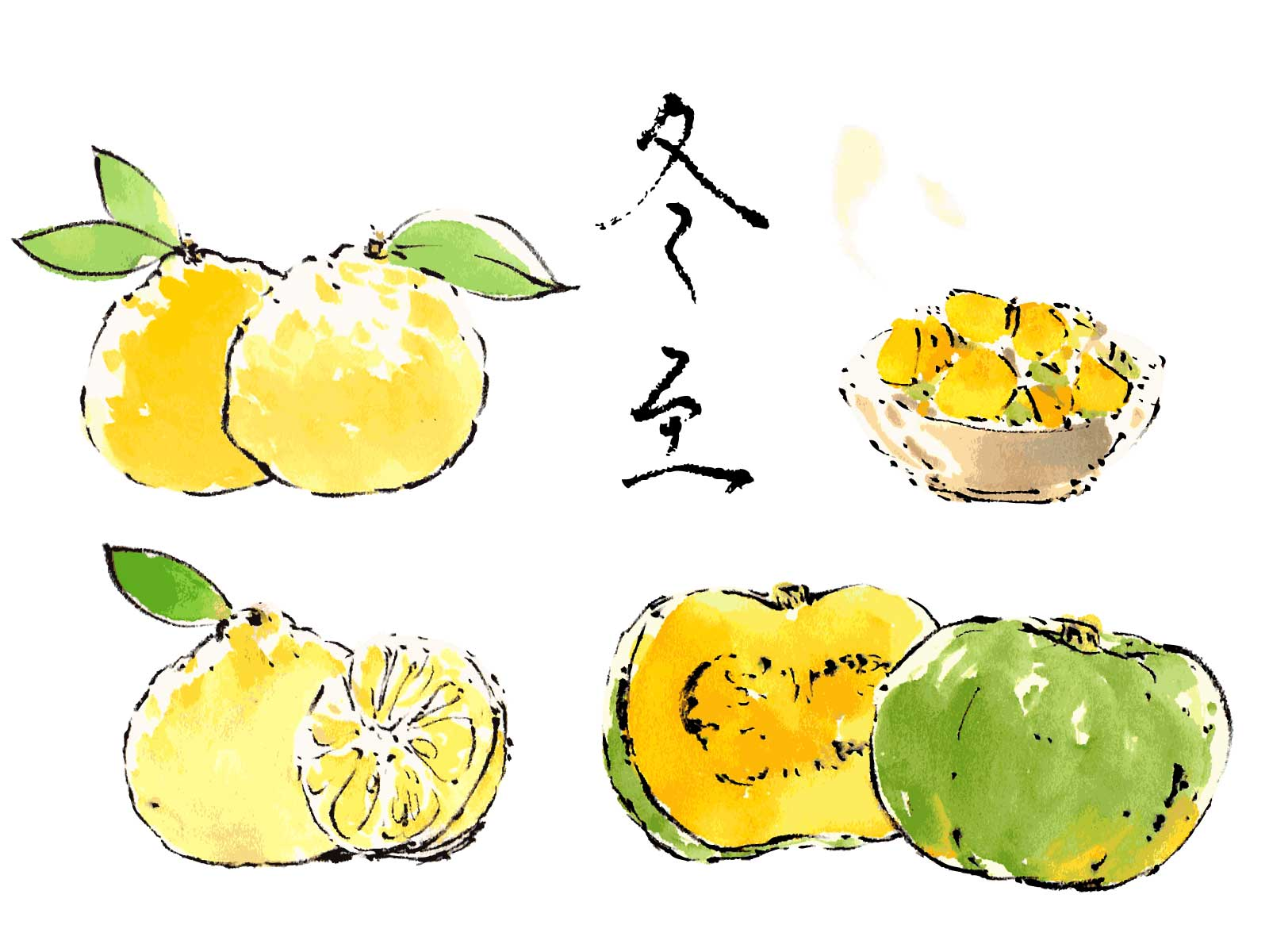 【冬至】ゆず風呂に入る理由/かぼちゃを食べる理由【便利グッズあり】