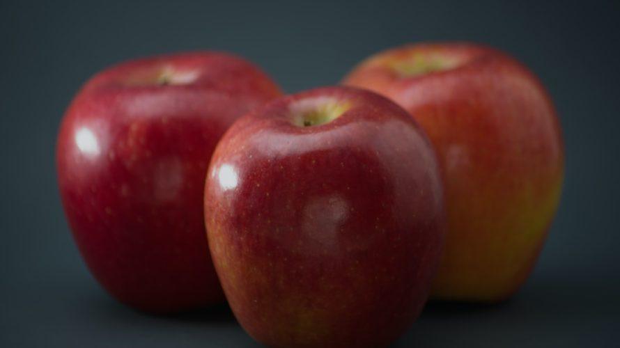 りんごの皮のベタベタ/原因は何?ワックスや農薬?/洗い方は?