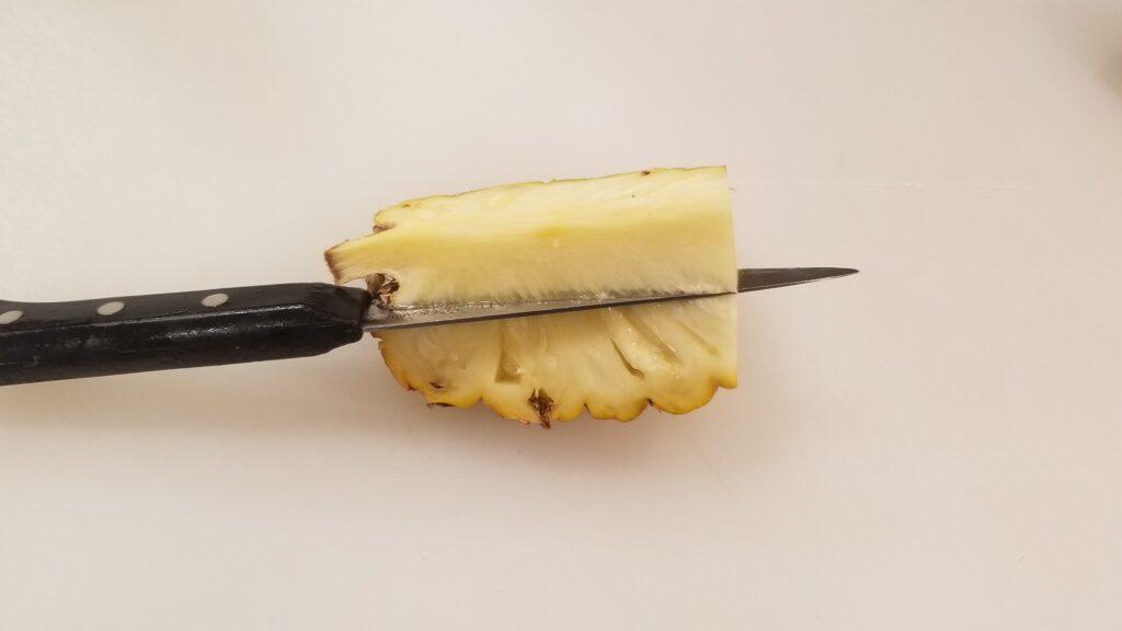 ハワイパイン芯抜き