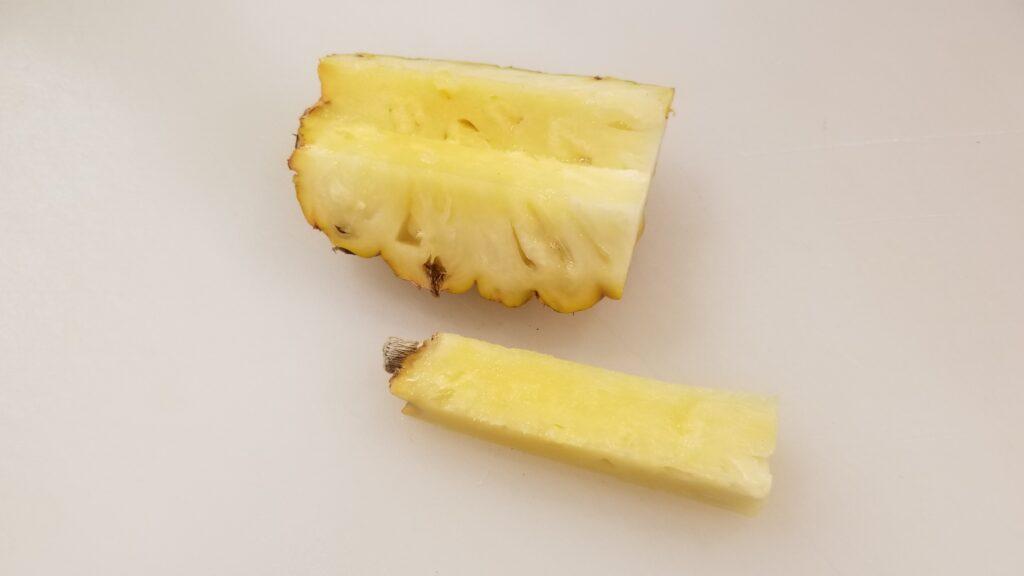 ハワイパイン芯抜き2