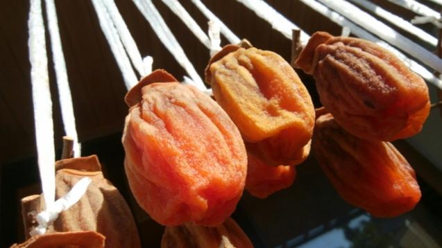 吊し柿 干し柿